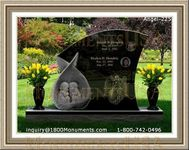 Angel Headstone 225