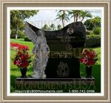 Angel Headstone 226