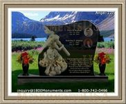 Angel Headstone 227
