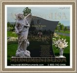 Angel Headstone 236