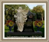 Angel Headstone 240